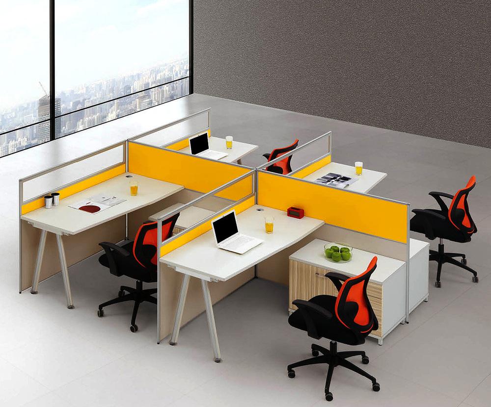屏風辦公桌|屏風工作位|隔斷辦公桌|梵歐辦公家具