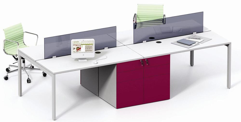 适用范围 敞开式办公区,办公室 说明 环保免漆板台面,钢制喷塑桌架及图片